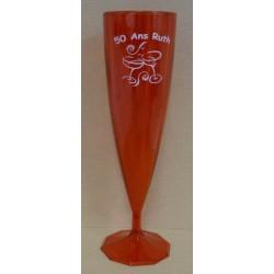 Flute à champagne 12 cl PS couleur lot de 50
