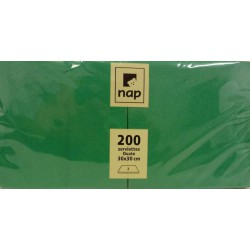 Serviette Verte 30x30 à partir de 100