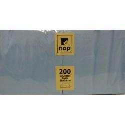 Serviettes Bleues 30x30 à partir de 100