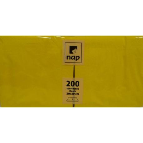 Serviettes Citron 30x30 à partir de 100